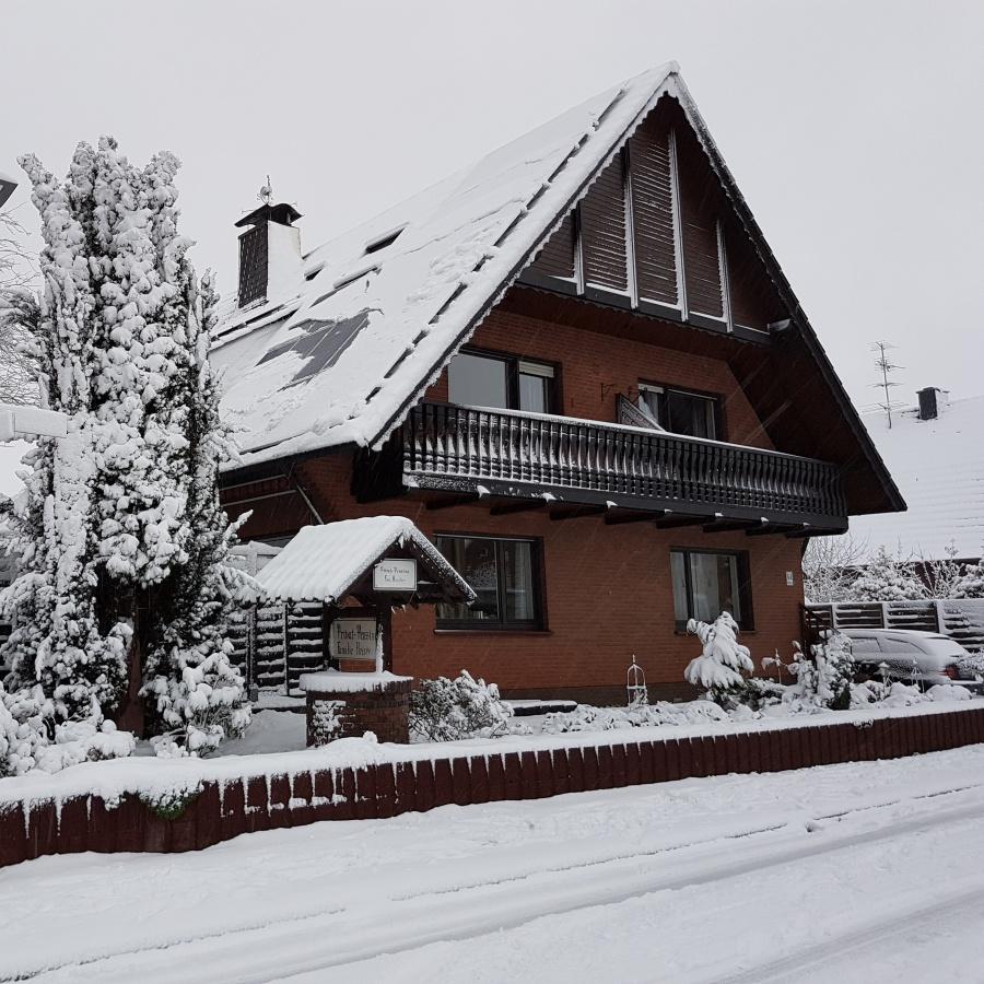 Pension Heister in Isselburg - Anholt bei Schnee im Winter