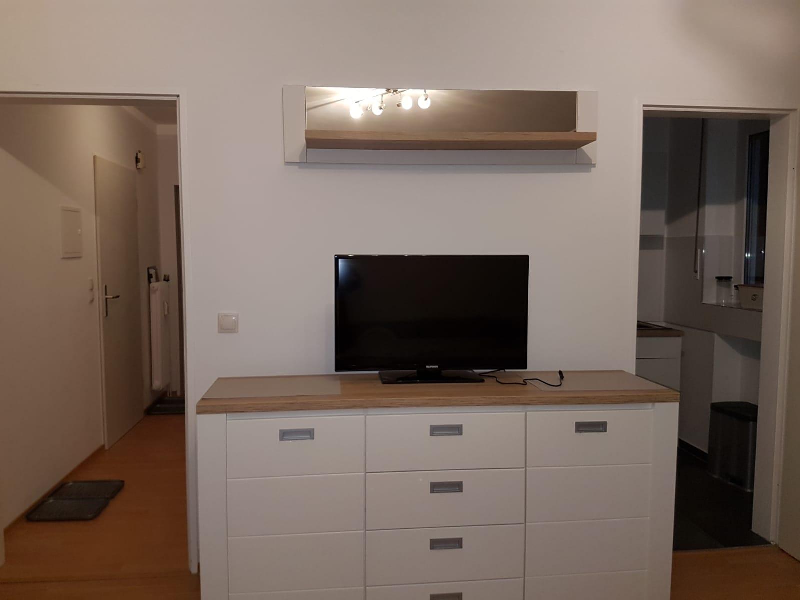 2-Zimmer Wohnung TV