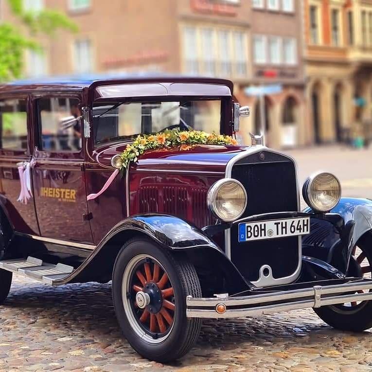 Pension Heister Hochzeitsauto